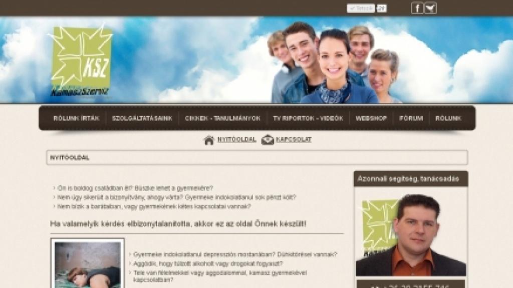 Joomla honlap átalakítása, felújítása - [kamaszszerviz.hu]