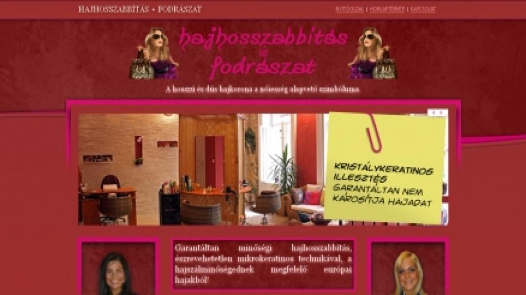 Webgrafika készítés, honlap arculattervezés - [hosszuhajat]