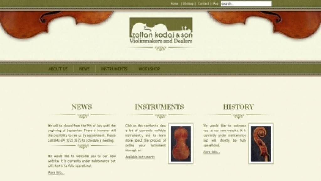 Webgrafika készítés, honlap arculattervezés - [zoltankodaj]