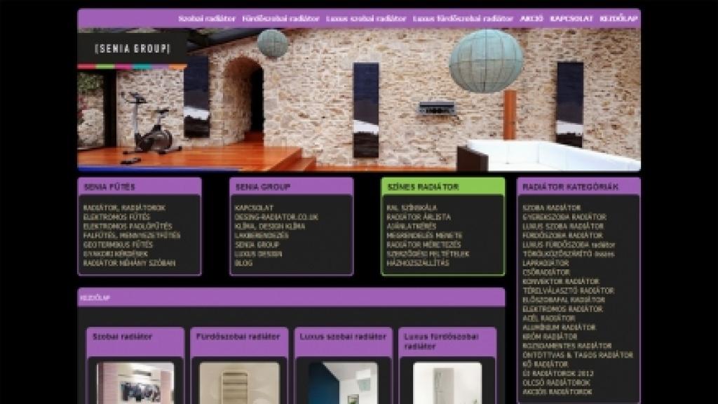 Joomla 1.0 frissítés és VirtueMart webáruház felújítása - [szinesradiator.hu]